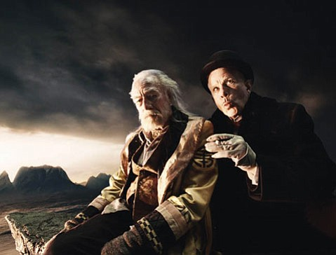 <em>The Imaginarium of Doctor Parnassus</em> finds the doc (Christopher Plummer) making a deal with the devil (Tom Waits).