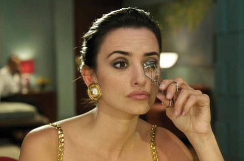 Penélope Cruz is the object of a blind film director's affection in <em>Broken Embraces</em>.