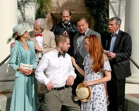 The cast of <em>Inherit the Wind</em>.
