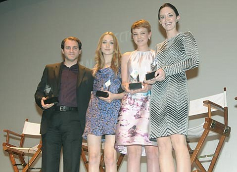 SBIFF 2010 Virtuosos (L to R) Michael Stuhlbarg, Saoirse Ronan, Carey Mulligan, and Emily Blunt.