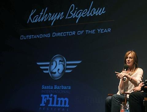 Katherine Bigalow at the Lobero Theatre Feb. 8, 2010