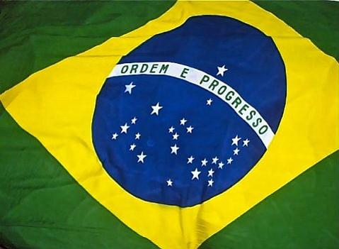 Brazil Flag Ordem E Progresso