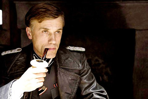 Christoph Waltz in <em>Inglourious Basterds</em>.