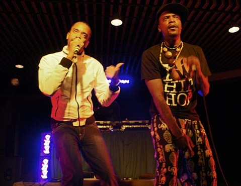 Dead Prez live at UCSB's Hub, Thursday, February 25.