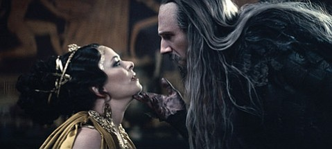 <strong>UNLEASHING SOMETHING:</strong>  Clash of the Titans has Ralph Fiennes as Hades.