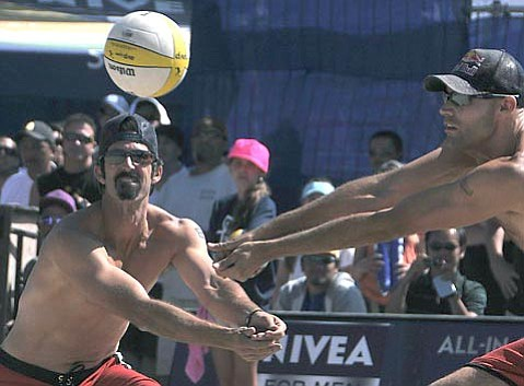 Todd Rogers and Phil Dalhausser