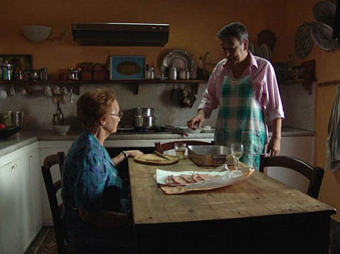 <em>Mid-August Lunch</em> offers up some light and sweet fair in this Italian film about a middle-aged man who tasked with taking care of his elderly mother and a bevy of other elderly women.