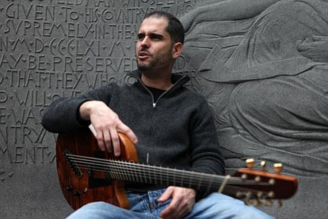 Seven-string guitarist Charlie Hunter plays in trio form this Sunday night at SOhO.