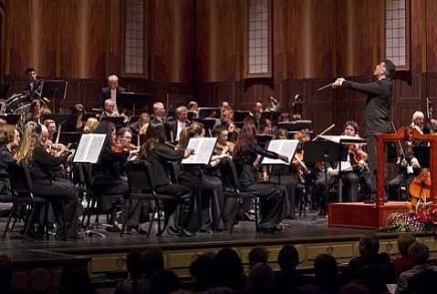 The final concert of the Santa Barbara Symphony season was a tour de force for the orchestra's horns.