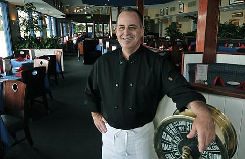 <strong>THE HARBOR MASTER:</strong>  As former chef of The Wine Cask and Restaurant Nu, which he also owned, David Cecchini is familiar with dishes both classical and creative. He bridges that gap as the chef of The Harbor on Stearns Wharf, where the best views of Santa Barbara are combined with his delectable fare.