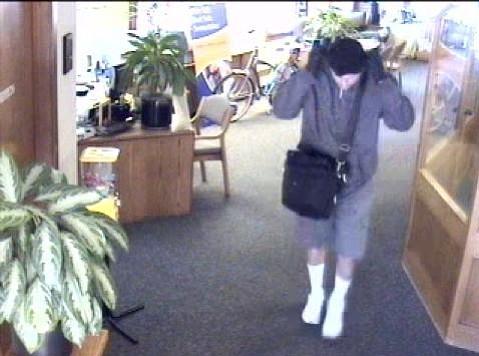 Suspect in Santa Barbara bank robbery on May 24