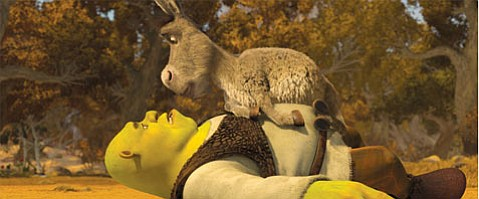 Mike Myers (Shrek) and Eddie Murphy (Donkey) lend their voices one more time in this (supposedly) final installment in the Shrek franchise.