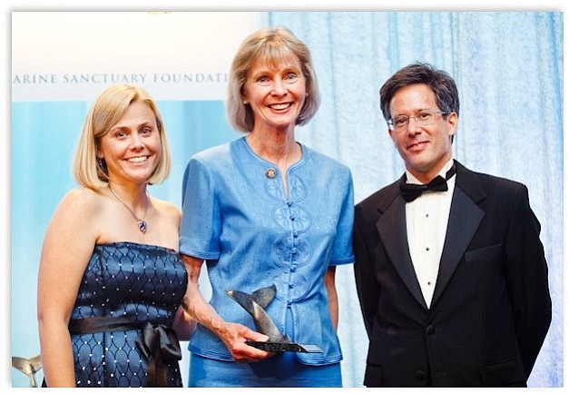 Capps receives award for her commitment to ocean conservation and marine sanctuaries, June 8.
