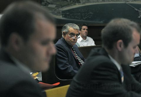 Tony Romasanta at City Hall in 2010