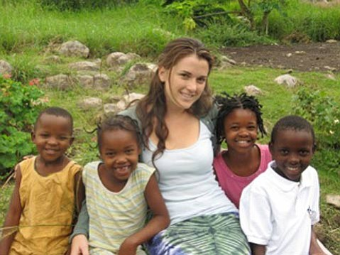 S.B. Native Ashley Hollister goes to Africa to run one of the country's first orphanages for girls.