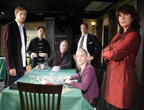 The cast of <em>Time of My Life</em>