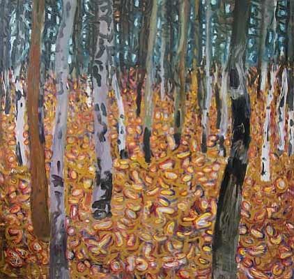 """Duncan's """"Birch Forest 2""""."""