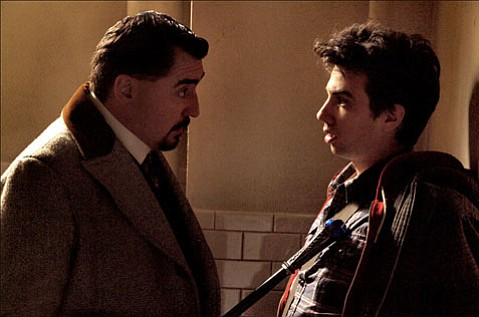 Maxim Horvath (Alfred Molina), left, and Dave Stutler (Jay Baruchel), right, face off in this modern adaptation of <em>The Sorcerer's Apprentice</em>.