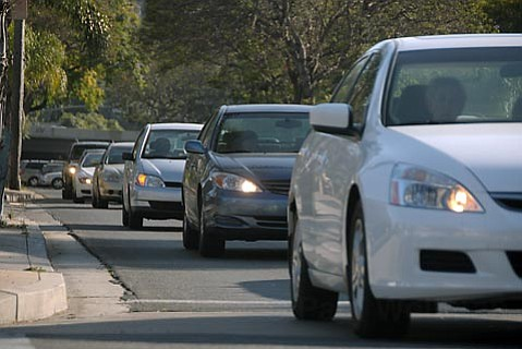 <strong>JAMMED:</strong>  Even under the slowest of slow-growth scenarios, the number of severely congested freeway intersections in Santa Barbara will triple in the next 20 years. Any effort to prevent this congestion requires five votes on the city council. But at least three of the seven councilmembers believe city hall has a deeply rooted bias against the automobile. Unless someone blinks, the council can throw away five years — $3 million — worth of work.