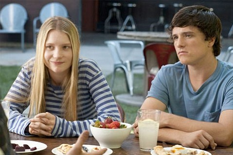 Mia Wasikowska and Josh Hutcherson star in <em>The Kids Are All Right</em>.