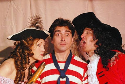 The cast of <em>Precious Nonsense</em>, a farce based on Gilbert and Sullivan's <em>The Pirates of Penzance</em>.