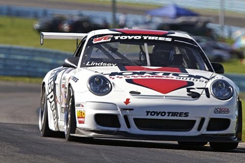 Santa Barbaran Patrick Lindsey competes in his first season of the World Challenge GT series.