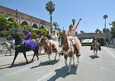 Fiesta Horse Parade