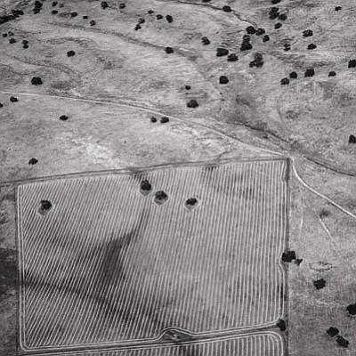 """""""Furrowed Fields, Santa Ynez, 2010"""" by Graham Bury"""