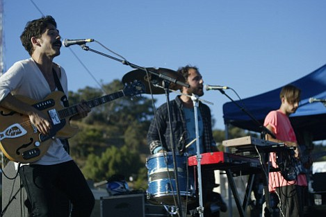 Local Natives at Saturday's FYF Fest.