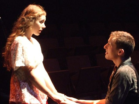UCSB's Naked Shakespeare presents <em>Romeo and Juliet</em>.