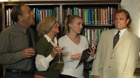 The cast of <em>Cocktail Hour</em>.