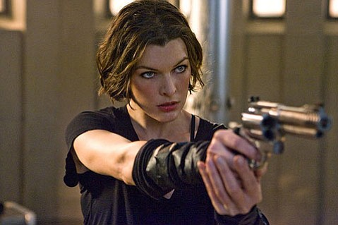 <strong>KILLER LOOKS:</strong>  Milla Jovovich proves that you can kill zombie, and look good doing it, in <em>Resident Evil: Afterlife</em>.