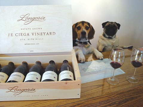 Wandering Dog Wine Bar offers worldwide tasting.