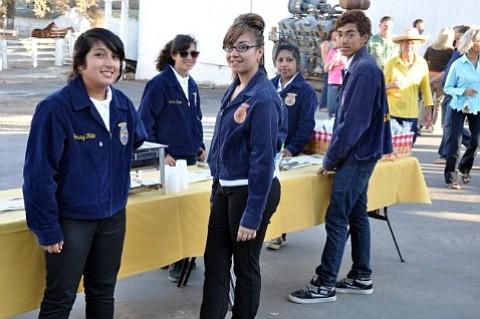 Santa Maria High FFA members
