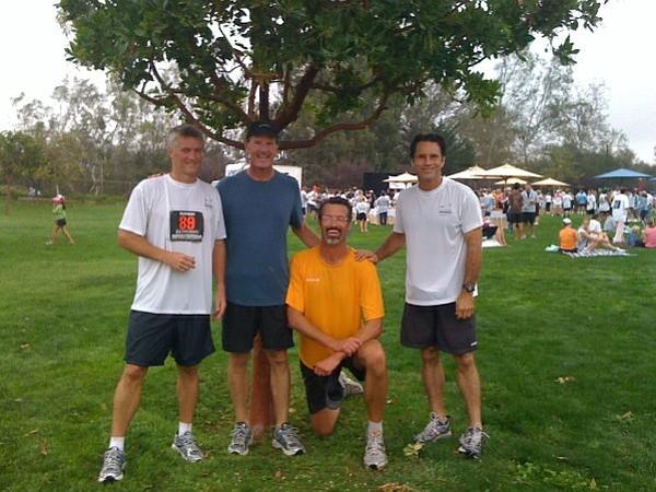 Team Crossroads (from Left): Streak (Brad Champagne), Big Foot (Michael Crandell), Showboat (Steven Crandell), and T-Bone (Steve Kulchin).
