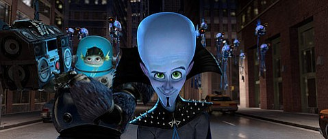 <strong>SMARTY PANTS:</strong>  Will Ferrell voices the titular anti-hero Megamind in this derivative, yet visually impressive riff on superhero movies.