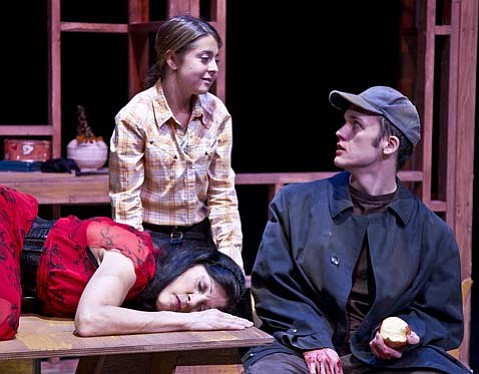 <em>Curse of the Starving Class</em> at Center Stage Theater.