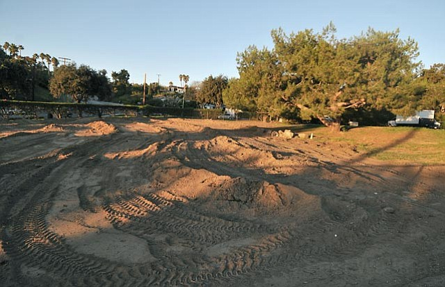 The future site of the Mesa Harmony Garden