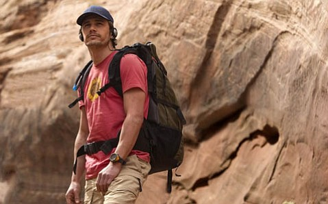 James Franco stars in <em>127 Hours</em>.