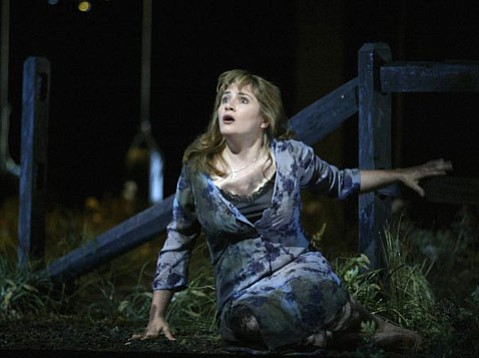 Patricia Racette received hugely positive reviews for her performance in the title role of the Santa Fe Opera production of Leoš Janáček's <em>Katya Kabanova</em>.