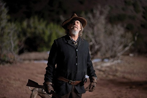 <strong>EYE FOR AN EYE:</strong>  Jeff Bridges adds another notch on his gun with his killer performance in <em>True Grit</em> as an eye-patched U.S. Marshal hired by a young girl to bring her father's killer to justice.