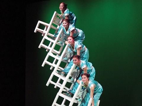 China's Peking Acrobats return to Santa Barbara.
