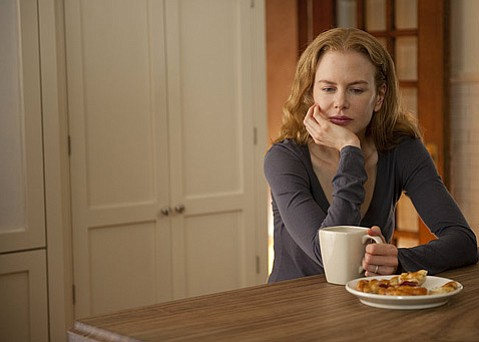 <strong>GOOD GRIEF:</strong>  Nicole Kidman (pictured) and Aaron Eckhart deliver moving performances as a couple who lose their young child in the restrained and artful <em>Rabbit Hole</em>.