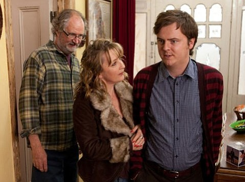 <strong>ANOTHER GEM:</strong>  Virtuoso Mike Leigh's <em>Another Year</em> follows the lives of a happy older couple and their less-cheery family and friends over the course of a year.