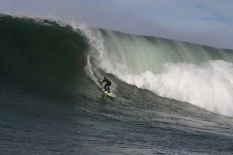 """""""What drew me to the big waves was the fact that they were challenging in all ways,"""" said surfer Sarah Gerhardt, who was the first woman to surf standing up at Mavericks in winter 1999. Gerhardt will speak at the S.B. Athletic Round Table's Women and Girls in Sports Luncheon Monday, February 7, 11:30 a.m., at the Earl Warren Showgrounds."""