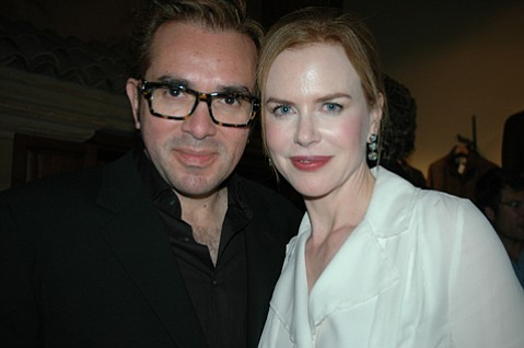 Roger Durling and Nicole Kidman