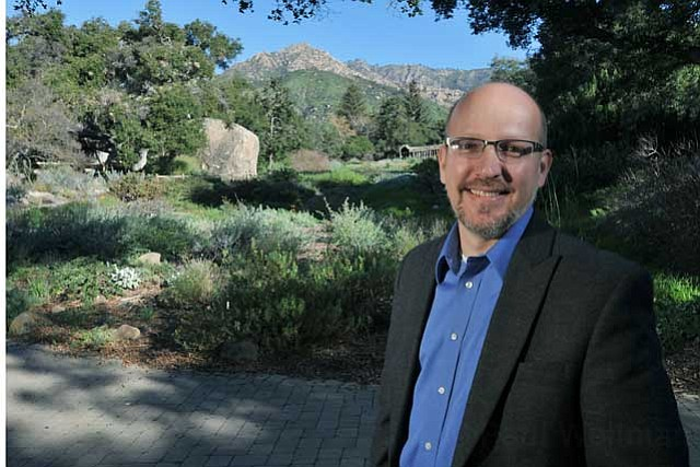 "FRIENDLY FACE: An online survey and community outreach meetings are part of Steve Windhager's plan to heal Santa Barbara's relationship with the Botanic Garden. ""What we're not going to do is come out with a finished plan and expect community applause,"" he said, pledging complete engagement with the public. ""We want to know: What do you want to learn?"""