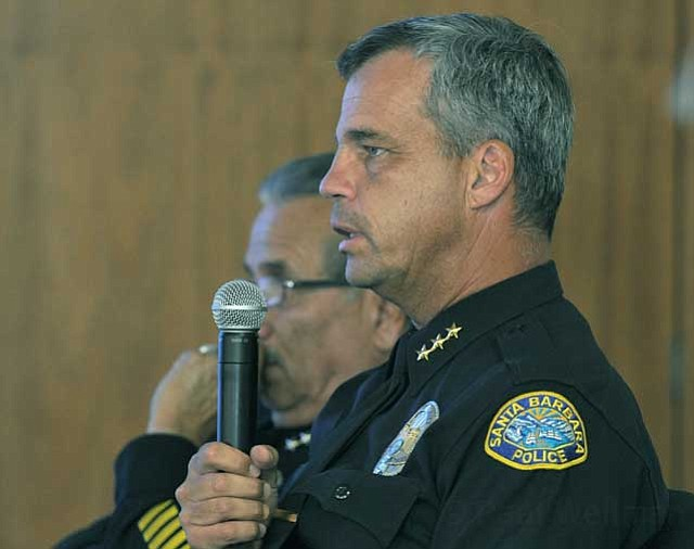 <strong>MORE BLACK-AND-WHITES? :</strong> Assistant Police Chief Frank Mannix reported 11 more cops will soon be patrolling the streets and that crime is down. That hasn't quelled concern about gang violence and homeless-related crime; some councilmembers will be pushing for even more cops.