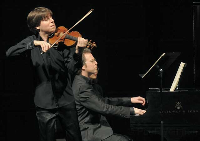 Joshua Bell and pianist Sam Haywood made beautiful music at the Granada on Tuesday, February 8.