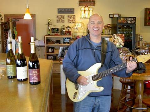 Winemaker Gary Burk